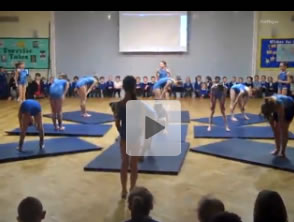 Gymnastics Competition Video