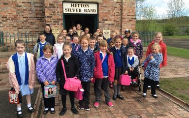 THE CHOIR AT BEAMISH.