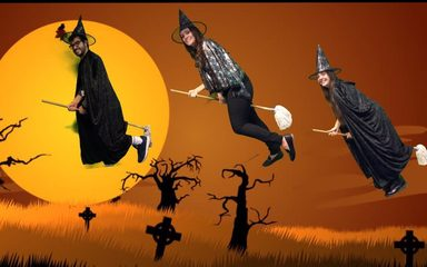 THREE WEIRD WITCHES TAKE OVER YEAR 5