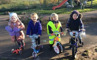EARLY YEARS BIKE PARADE!